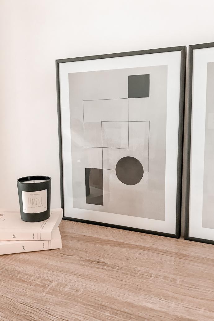 Avis Desenio Affiches cadres - deco minimaliste scandinave - blog Mangue Poudrée - Blog Mode et Lifestyle à Reims Paris influenceuse -6