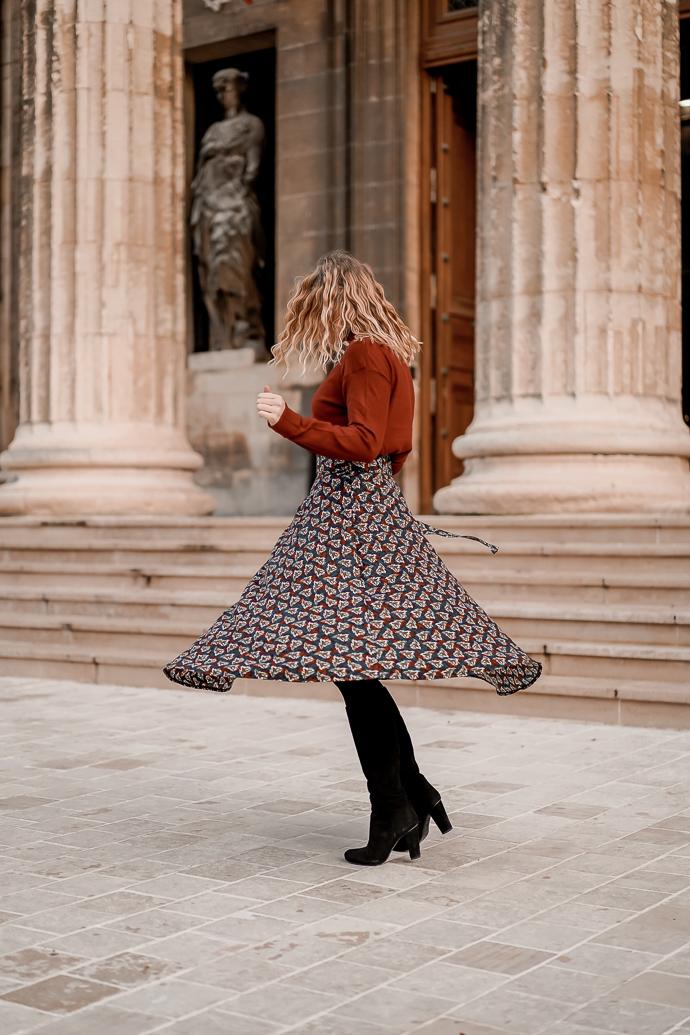 Comment porter la jupe longue en hiver - Blog Mangue Poudrée - Blog mode et lifestyle à Reims Paris influenceuse - 14