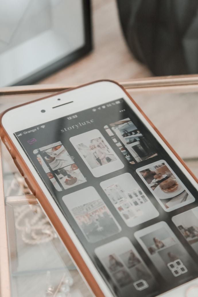 Mes 5 applications pour créer de belles stories Instagram - Blog Mangue Poudrée - Blog mode et lifestyle à Reims - 02