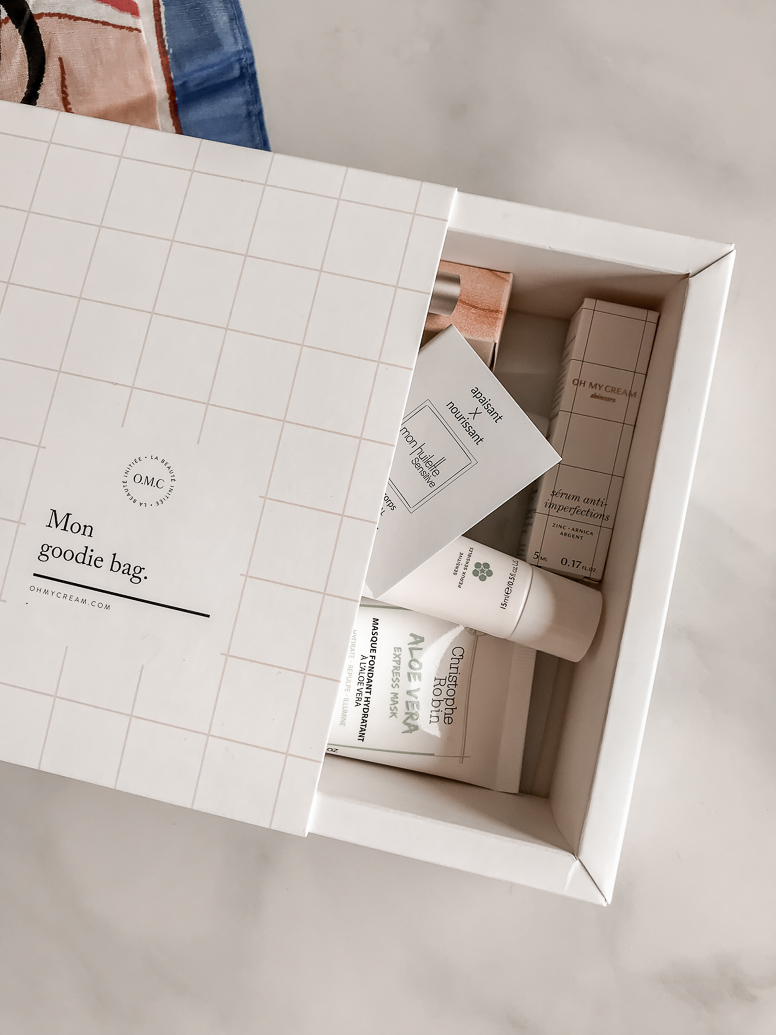goodie bag Oh My Cream - Blog Mangue Poudrée - Blog mode et lifestyle à Reims Paris influenceuse - 1
