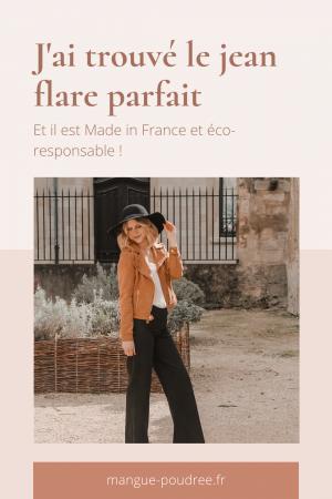 Avis Koshka Mashka - comment porter le jean flare look - Blog Mangue Poudrée - Blog mode et lifestyle Reims Paris Influenceuse - Pinterest - 1