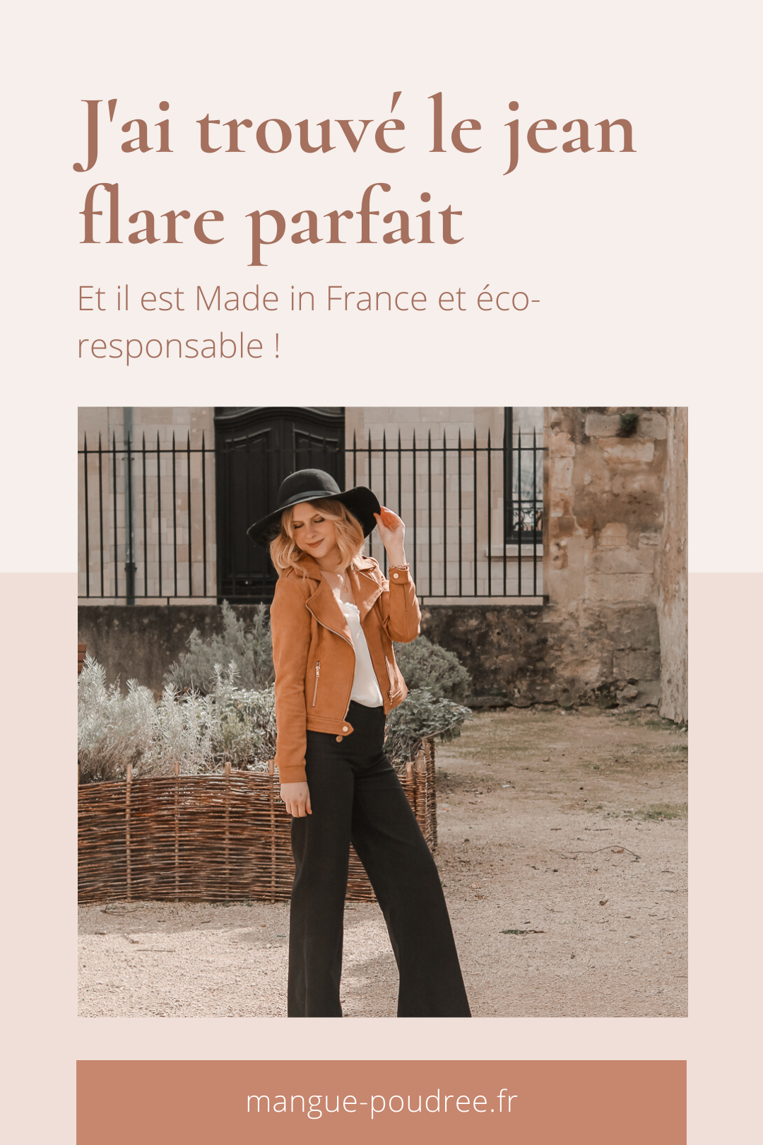 Avis Koshka Mashka - comment porter le jean flare look - Blog Mangue Poudrée - Blog mode et lifestyle Reims Paris Influenceuse - Pinterest - 1