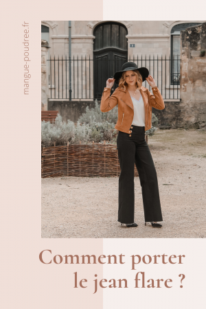 Avis Koshka Mashka - comment porter le jean flare look - Blog Mangue Poudrée - Blog mode et lifestyle Reims Paris Influenceuse - Pinterest - 3