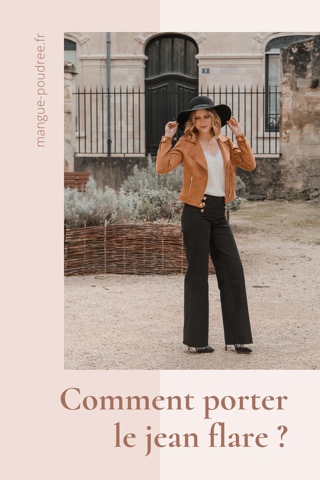 Avis Koshka Mashka - comment porter le jean flare look - Blog Mangue Poudrée - Blog mode et lifestyle Reims Paris Influenceuse - Pinterest - 3
