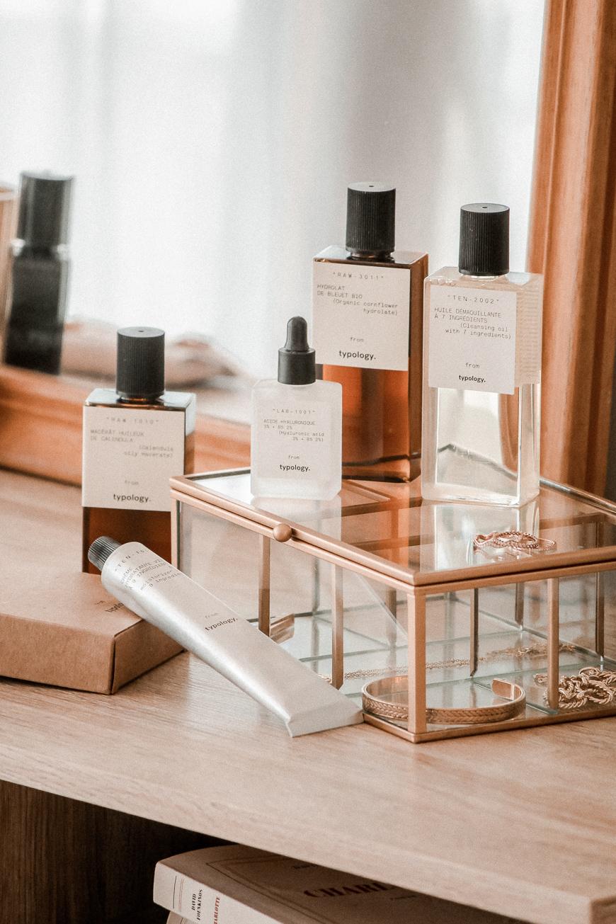 Ma routine peau sensible Typology- Blog Mangue Poudrée - Blog mode et lifestyle à Reims Paris influenceuse - www.mangue-poudree.fr -1