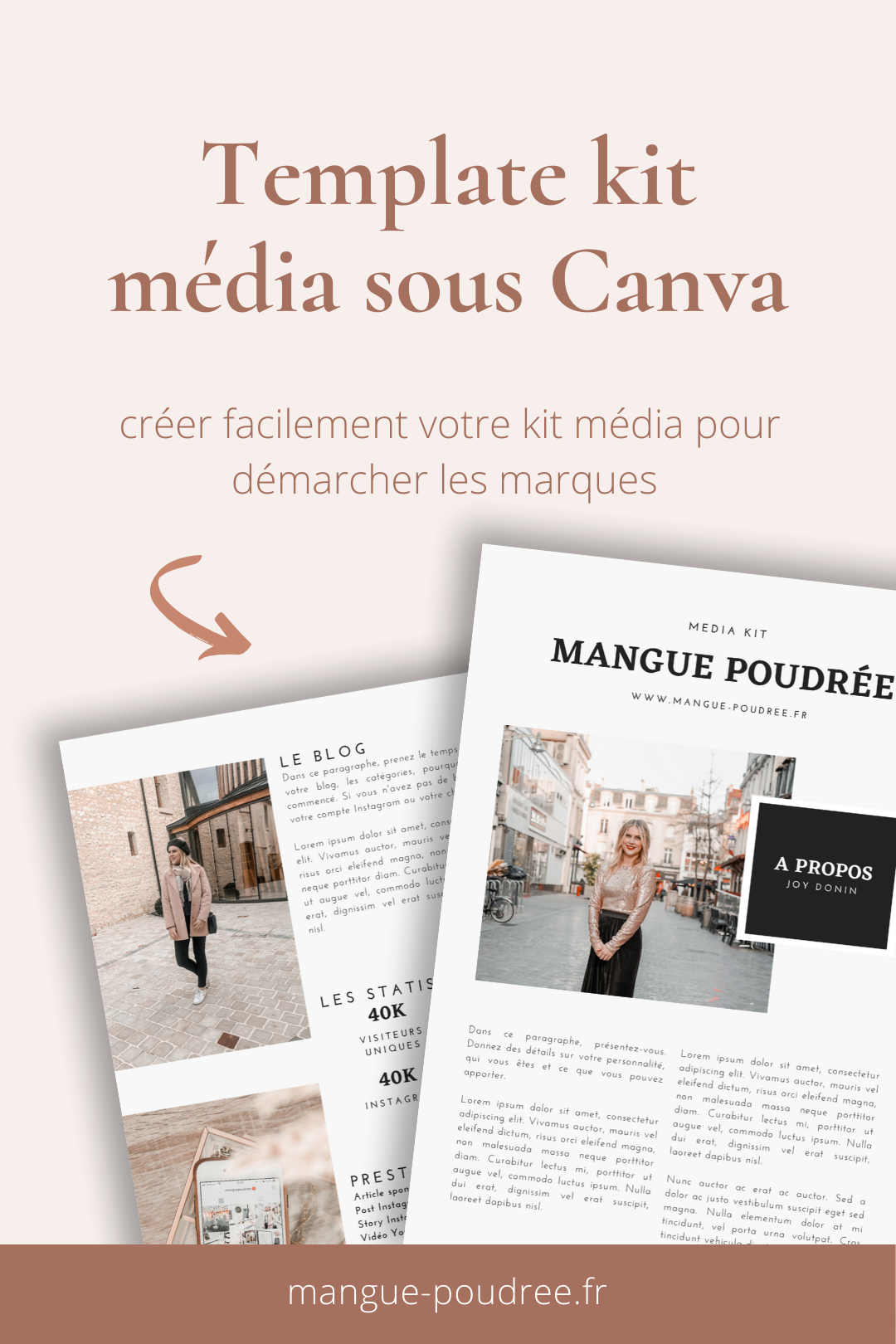 Comment créer un kit média impactant ? Téléchargez votre template de kit média sous Canva