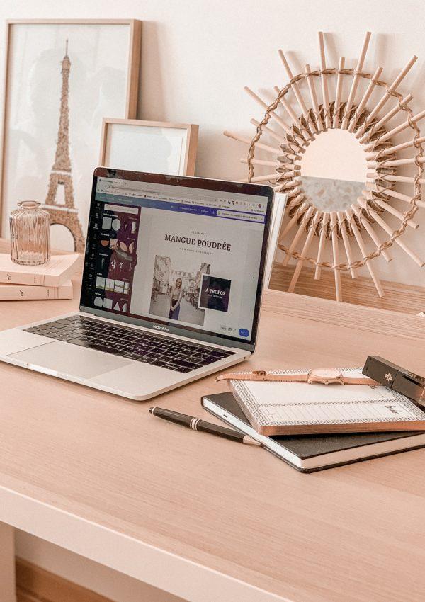 Comment créer un kit média percutant ? Téléchargez votre template pour Canva - Mangue Poudrée - Blog mode Paris1