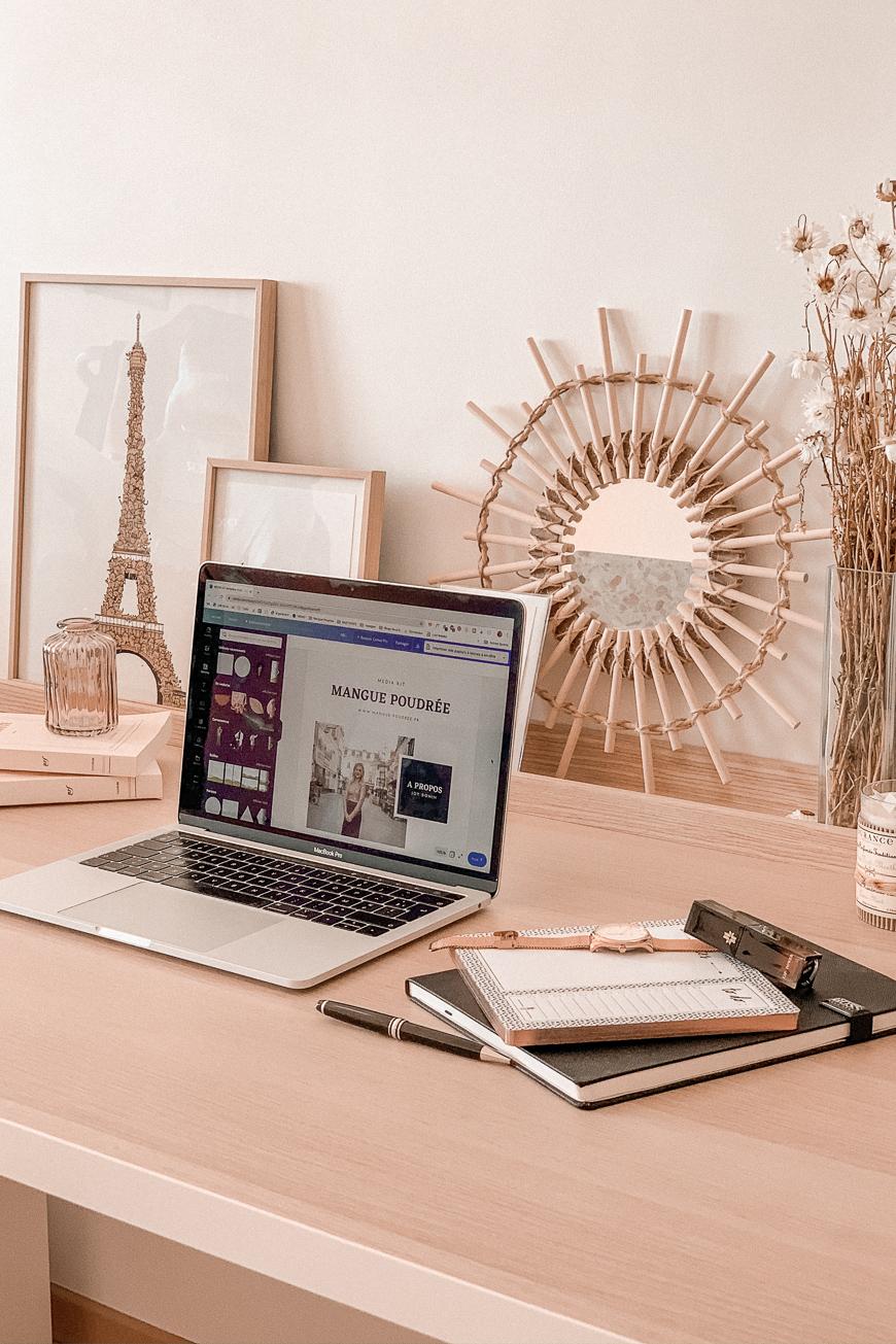 Comment créer un kit média percutant ? Téléchargez votre template pour Canva - Mangue Poudrée - Blog mode Paris4