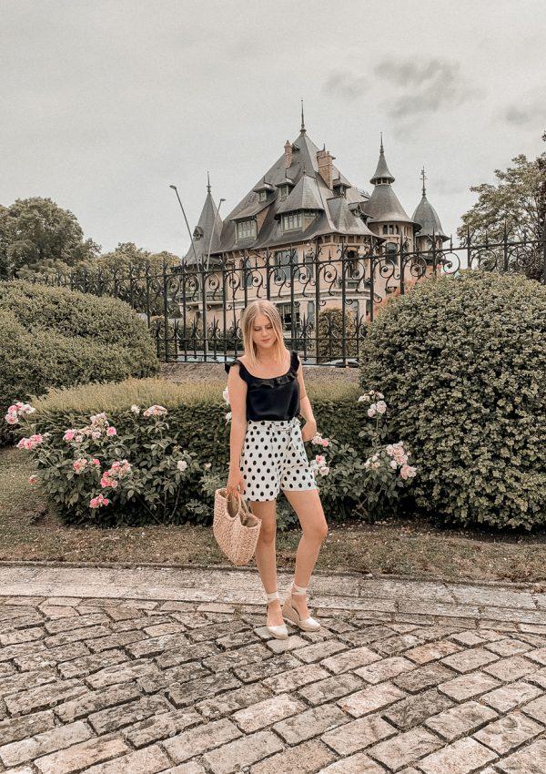 Mon look du jour avec les archive Sézane de juin 2020 - Mangue Poudrée - Blog mode e lifestyle à Reims Paris