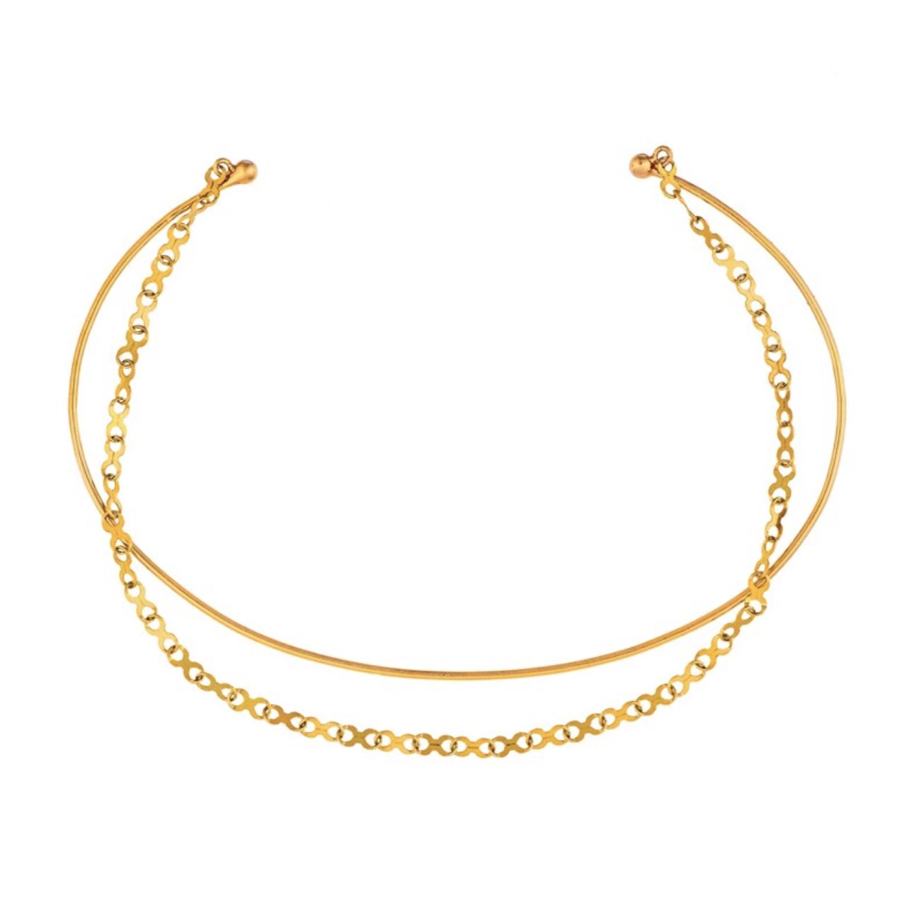 Comment porter le bracelet jonc en or 18 carats - Mangue Poudrée - Influenceuse Reims Paris Lille Charlotte
