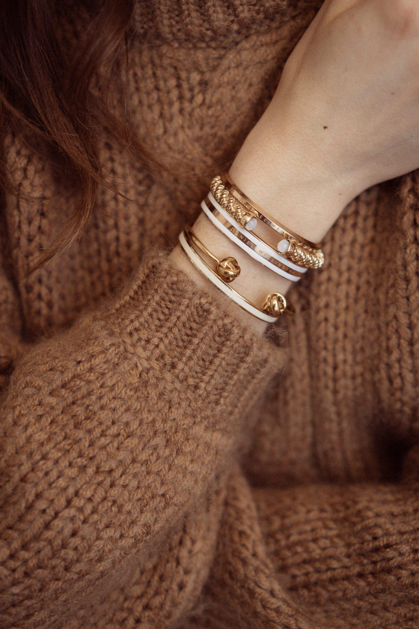 comment porter le bracelet jonc inspiration daphné moreau accumulation