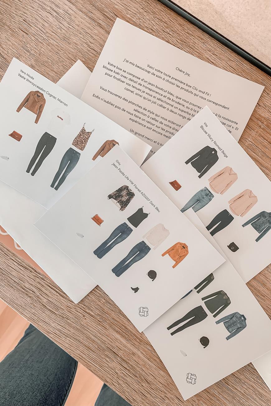 Mon avis sur Clic and Fit _ un styliste dans une box - Blog Mangue Poudrée - Influenceuse reims paris - 5