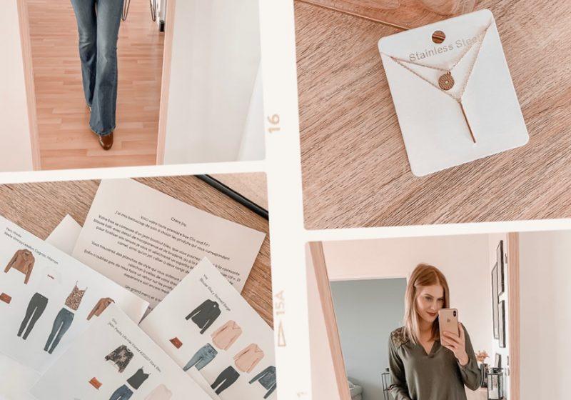 Mon avis sur Clic and Fit _ un styliste dans une box - Blog Mangue Poudrée - Influenceuse reims paris - 7