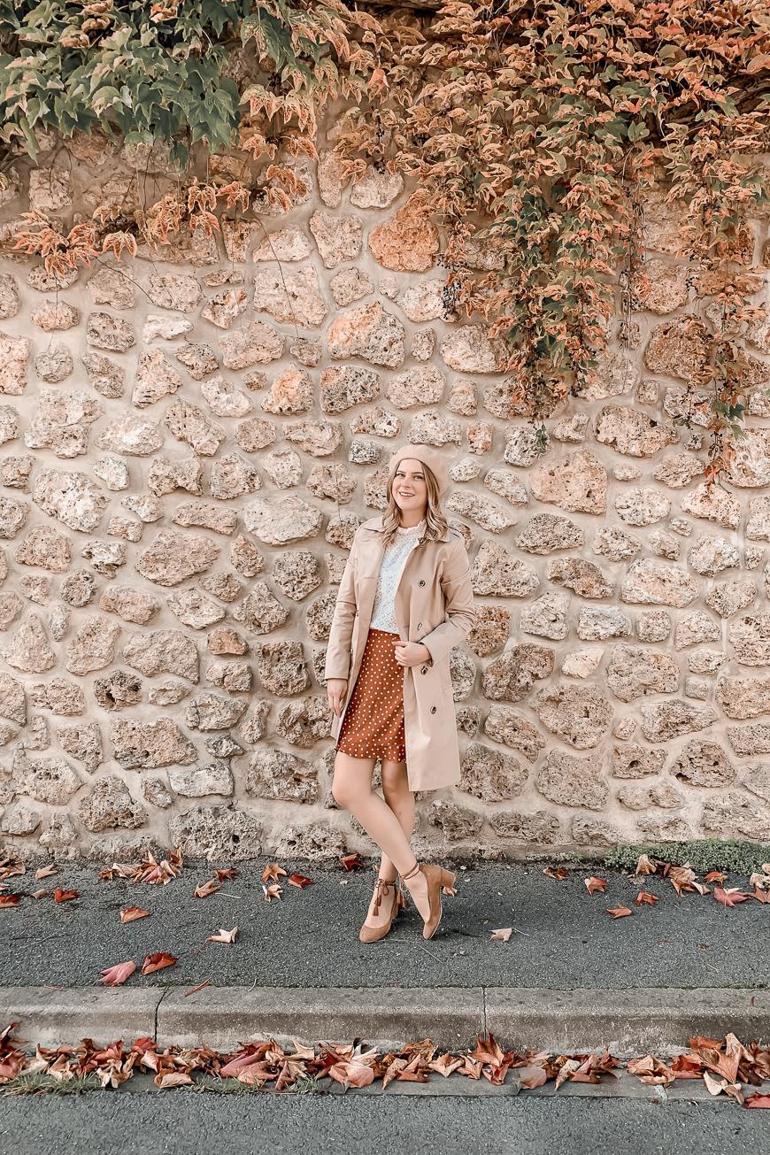 Comment porter la blouse en dentelle blanche ? #1piece3looks - Mangue Poudrée - 2