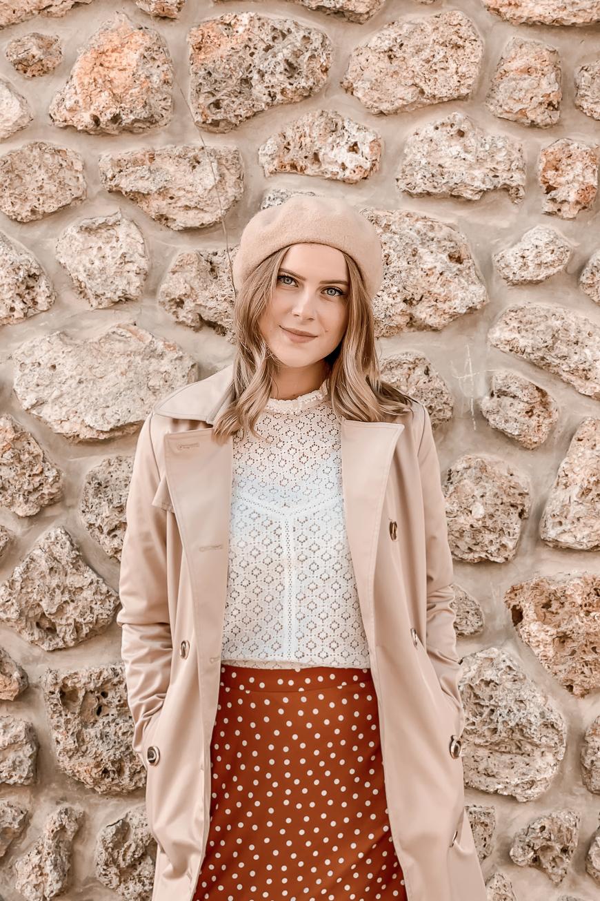 Comment porter la blouse en dentelle blanche ? #1piece3looks - Mangue Poudrée - 3
