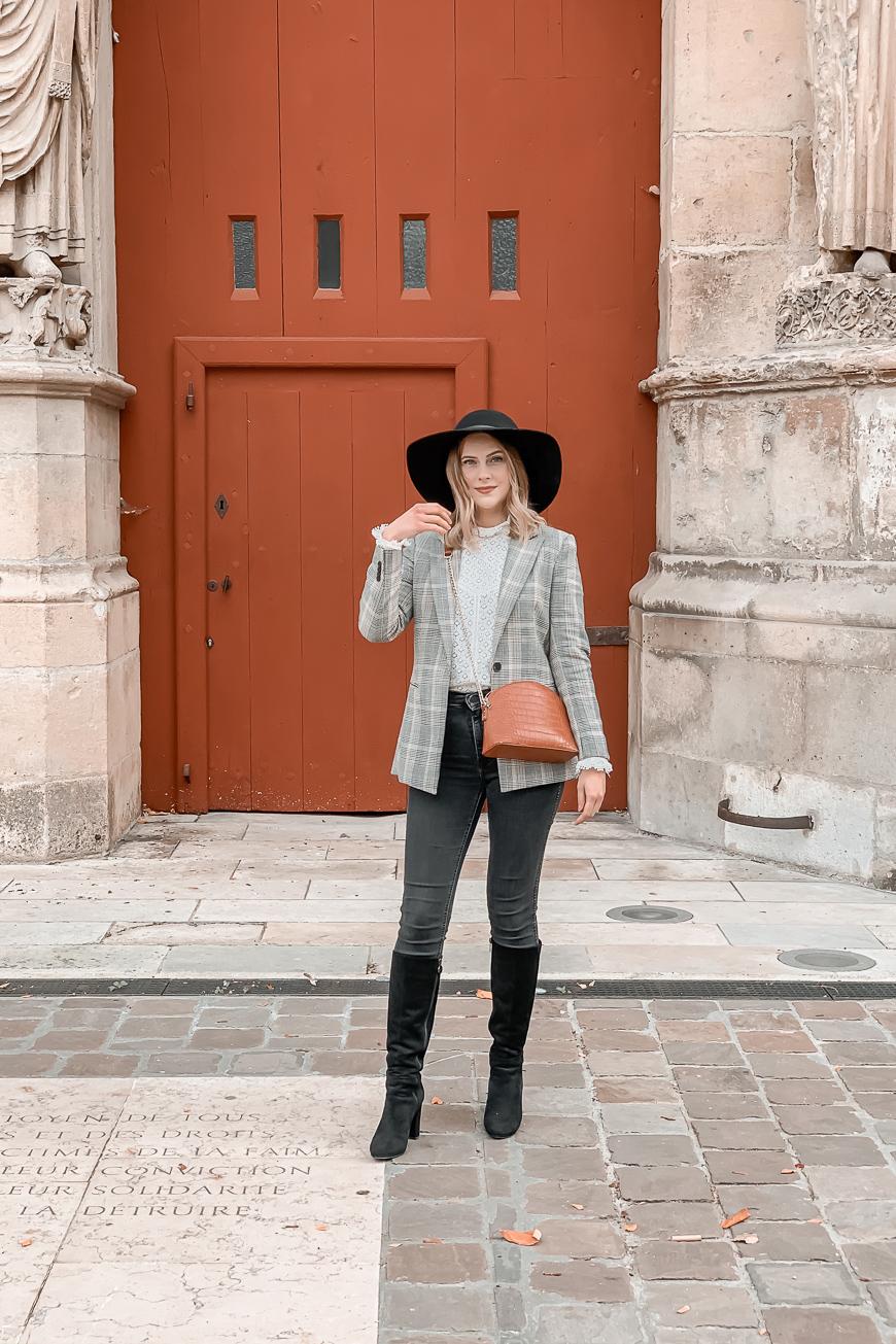 Comment porter la blouse en dentelle blanche ? #1piece3looks - Mangue Poudrée - 5