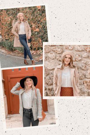 Comment porter la blouse en dentelle blanche ? #1piece3looks - Mangue Poudrée - 7
