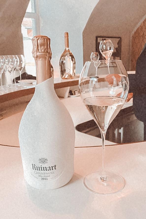 Où sortir à Reims ? Mes bonnes adresses pour aller boire un verre - Blog Mangue Poudrée - Influenceuse Reims - Maison Ruinart