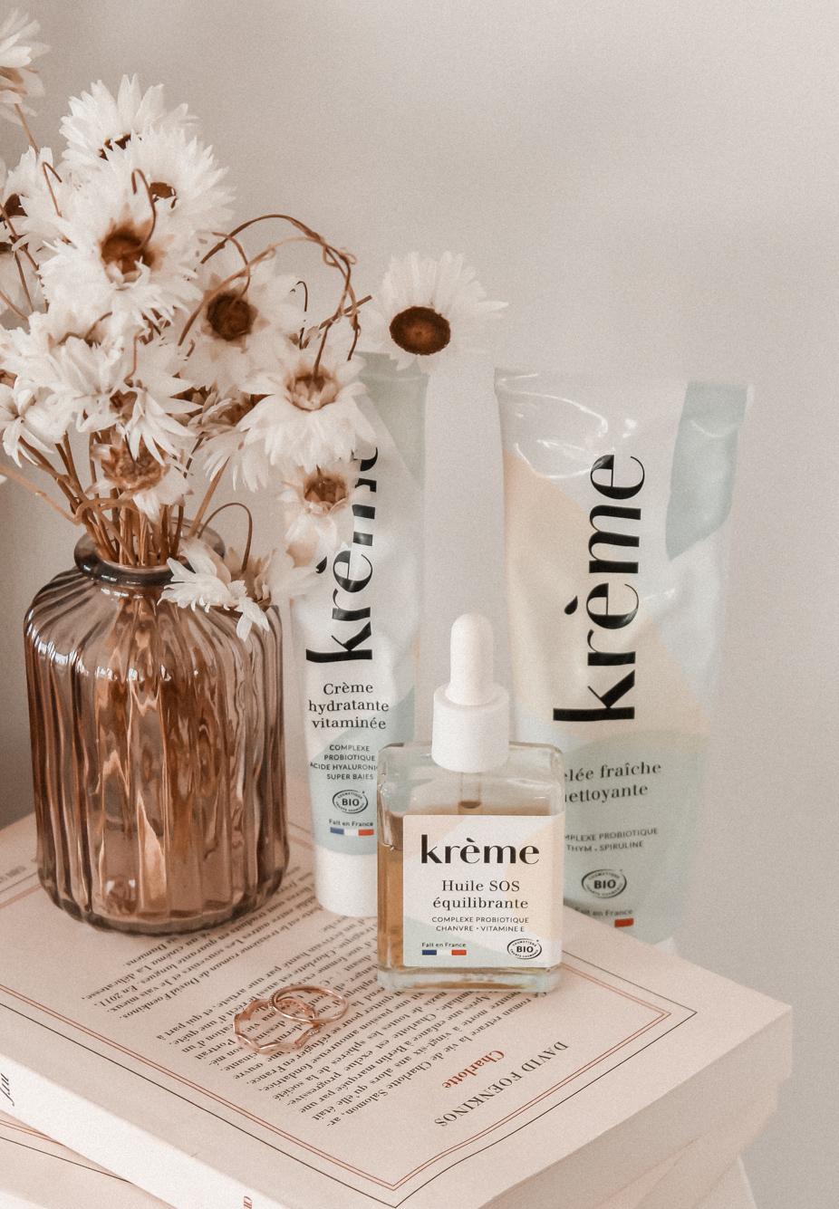 Mon avis sur Krème Paris - Soins cosmétiques aux probiotiques Made in France - Influenceuse Beauté Luxe Reims Paris - 4