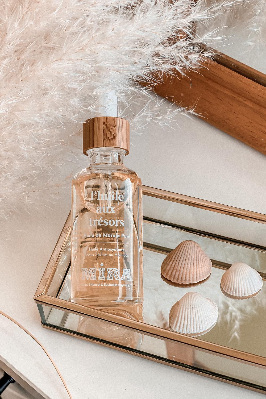 Avis huiles Mira huiles végétales et essentielles naturelles - peaux sensibles imperfections - Blog Mangue Poudrée - Influenceuse Luxe Reims Paris - 3
